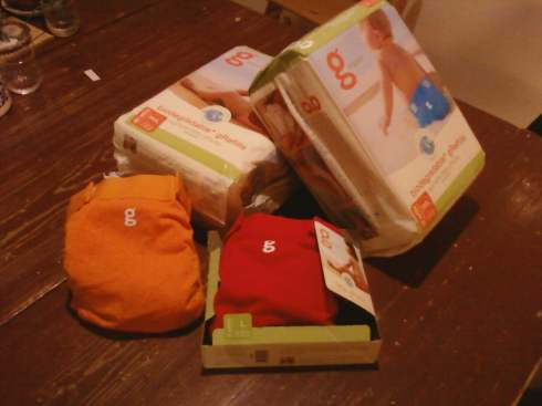 gNappies from gDiapers that are cradle to cradle