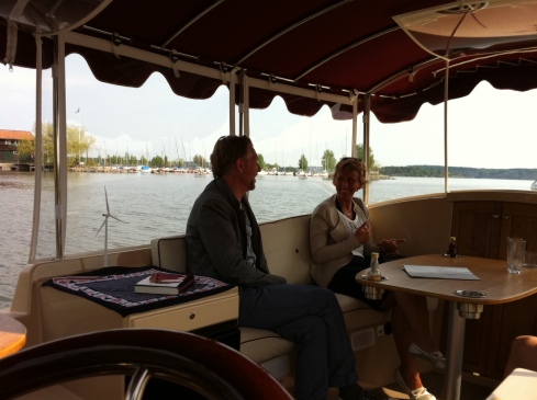 vindkraft båtcharter